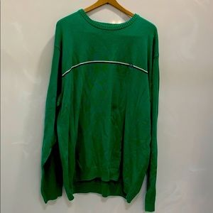 Chaps Green Pullover Sweater